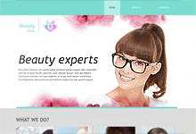 instant website template